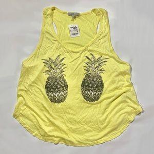 Charlotte Russe Pineapple Tank
